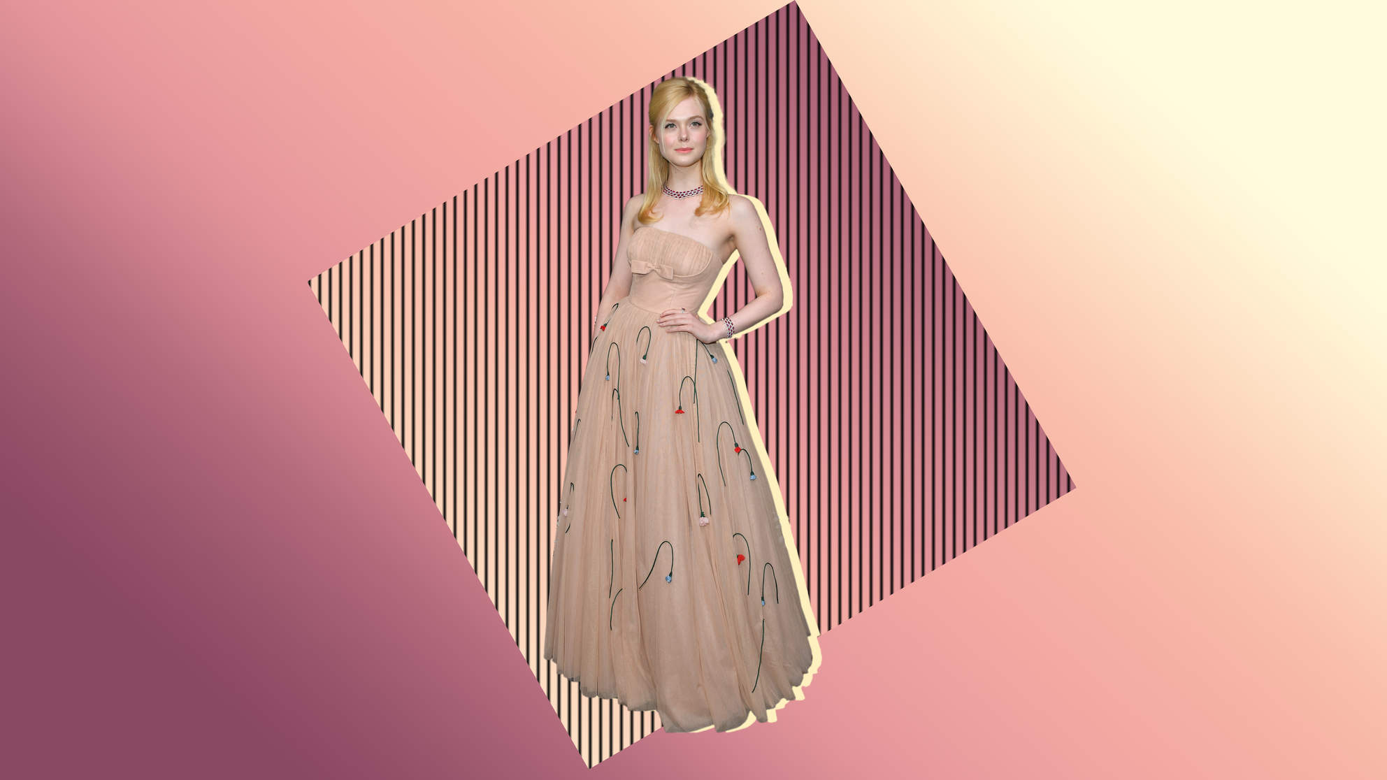 Elle Fanning Wore a Corset Dress so Tight She Fainted— Here's Why Waist Cinchers Are Dangerous for Your Health