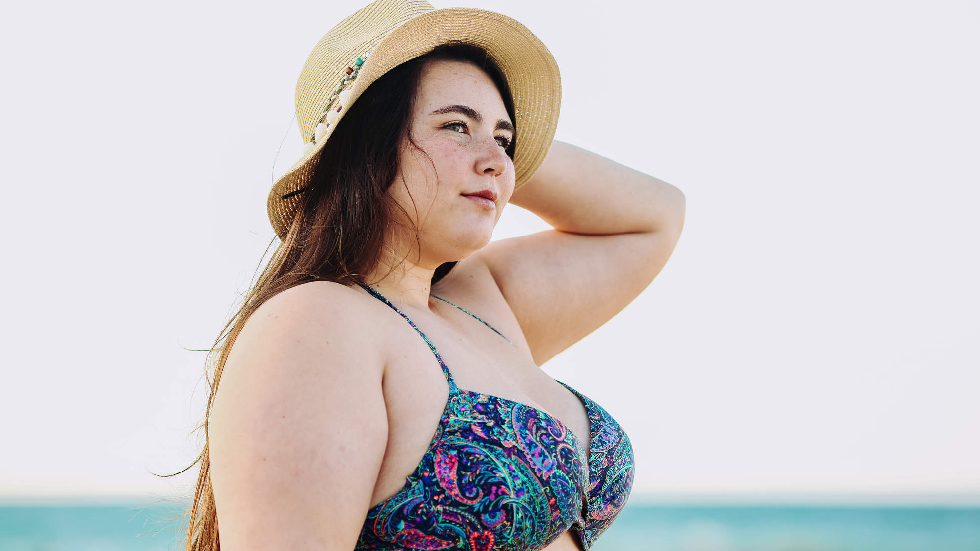 Newsflash: This Swimsuit Photo isn't Meant to Be a Body Positivity Message Just Because She's 'Fat'