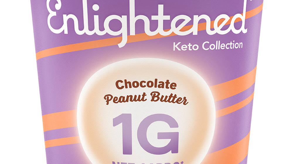 enlightened ice-cream diet keto ketogenic ketosis carbs carbohydrates woman diet food dessert health