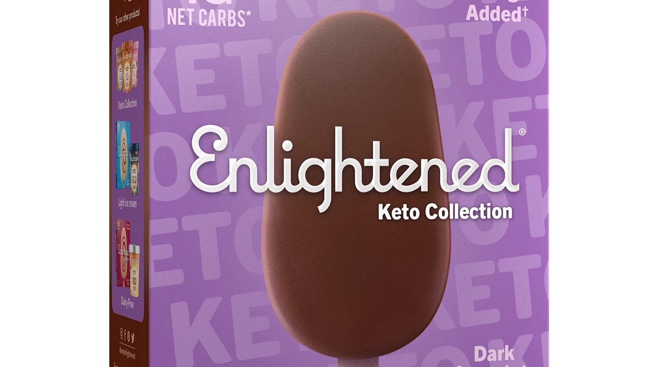 dark-chocolate-bar-enlightened-keto-ice-cream enlightened ice-cream diet keto ketogenic ketosis carbs carbohydrates woman diet food dessert health