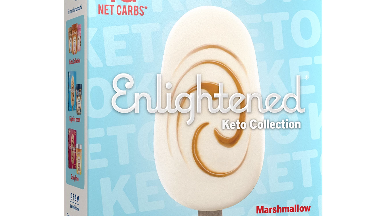 pb-marshmallow-bar-enlightened-keto-ice-cream enlightened ice-cream diet keto ketogenic ketosis carbs carbohydrates woman diet food dessert health