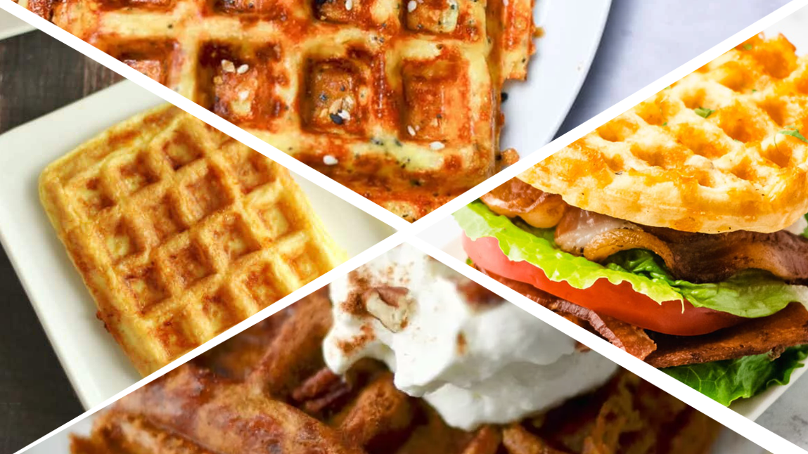 5 Chaffle Keto Recipes That Will Satisfy Your Brunch Cravings