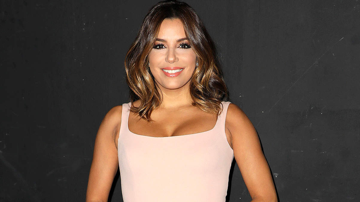Eva Longoria Is Adding Intense Weight Training to Her Post-Pregnancy Workouts