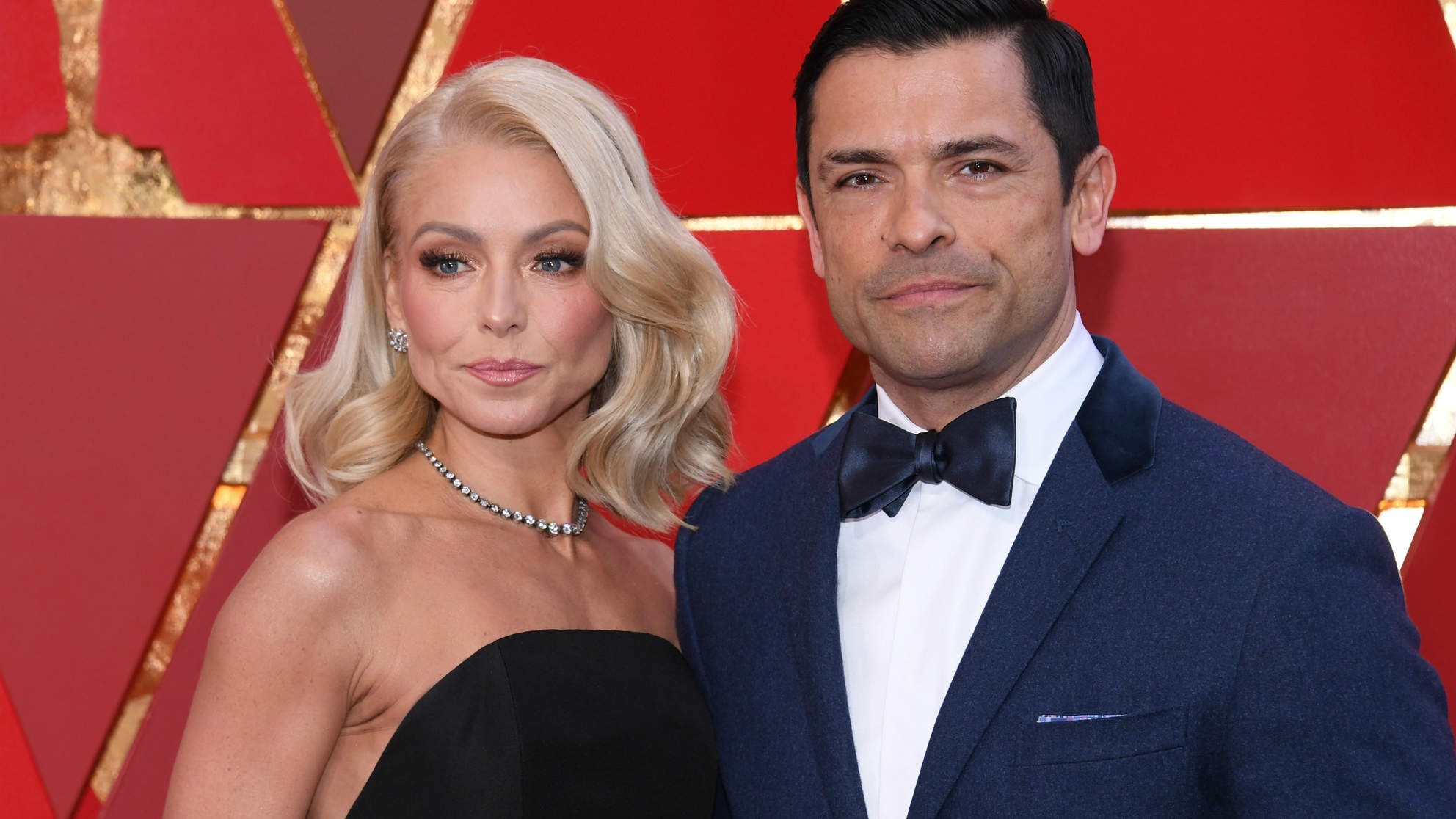 Kelly Ripa's Husband Mark Consuelos Went After Her Body Shamers