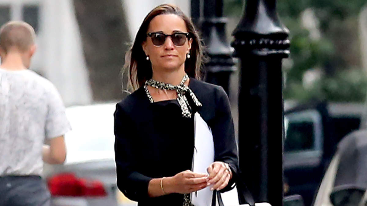 Pippa Middleton Can't Stop Wearing These Comfortable (And Cute) Shoes