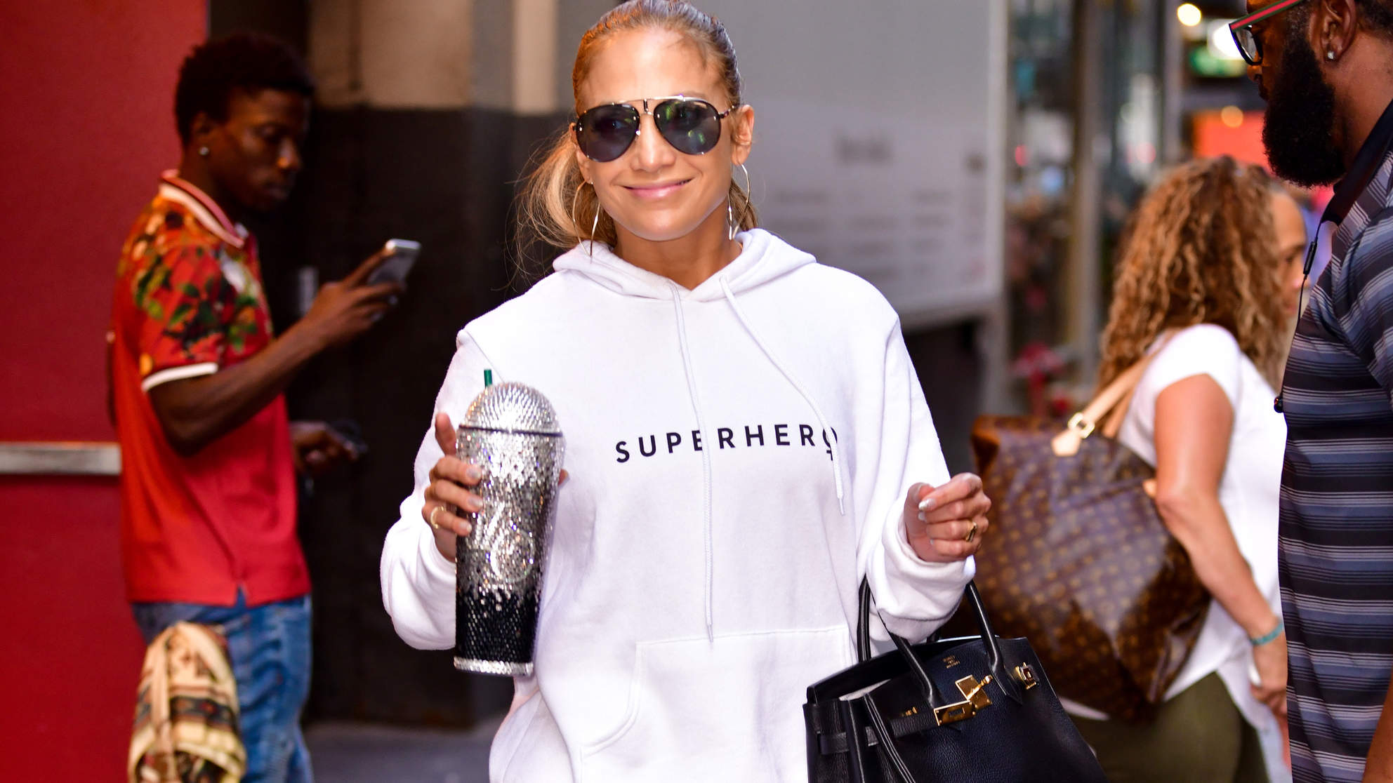 I Worked Out Like Jennifer Lopez, Down to Her Bedazzled Tumbler