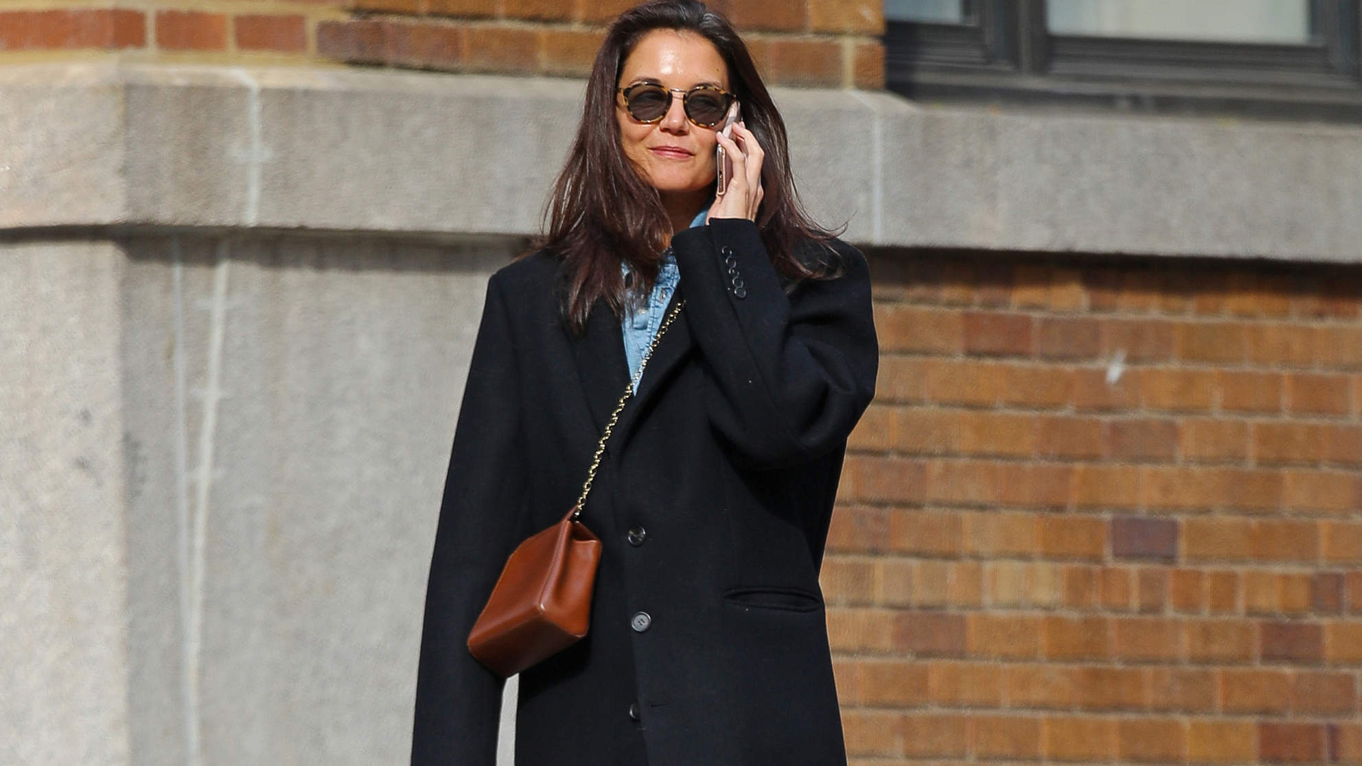 Katie Holmes's Affordable Sneakers Are the Star of Her Latest Street-Style Look