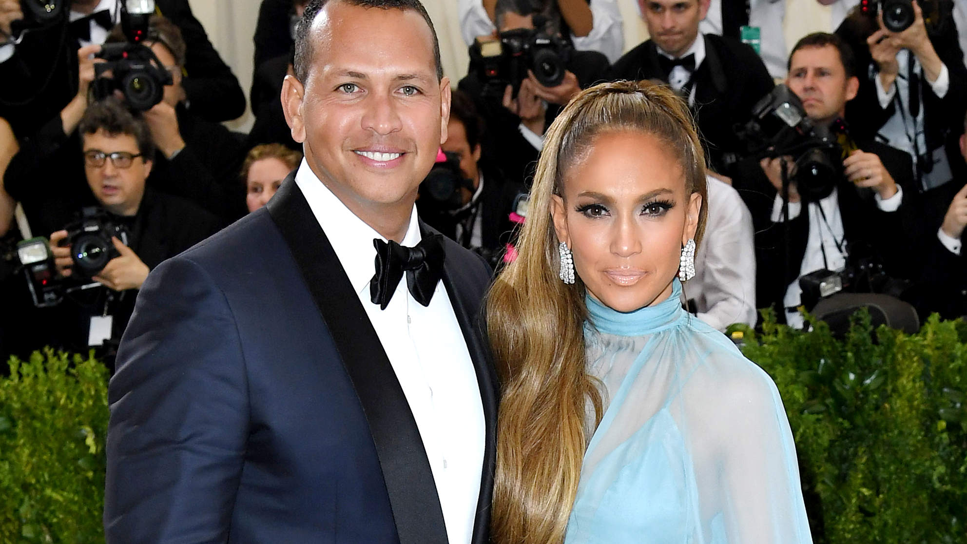 Jennifer Lopez Poses in Green Bikini Before Announcing Engagement to Alex Rodriguez