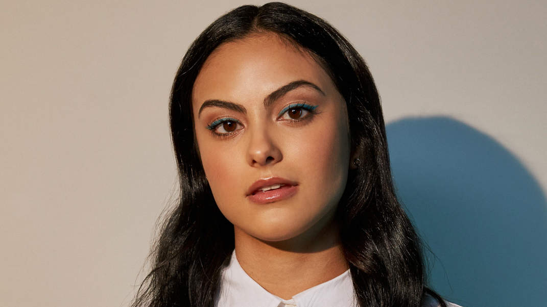 Camila Mendes Poses Makeup Free—and Shares the 5 Skincare Products She Uses Every Morning