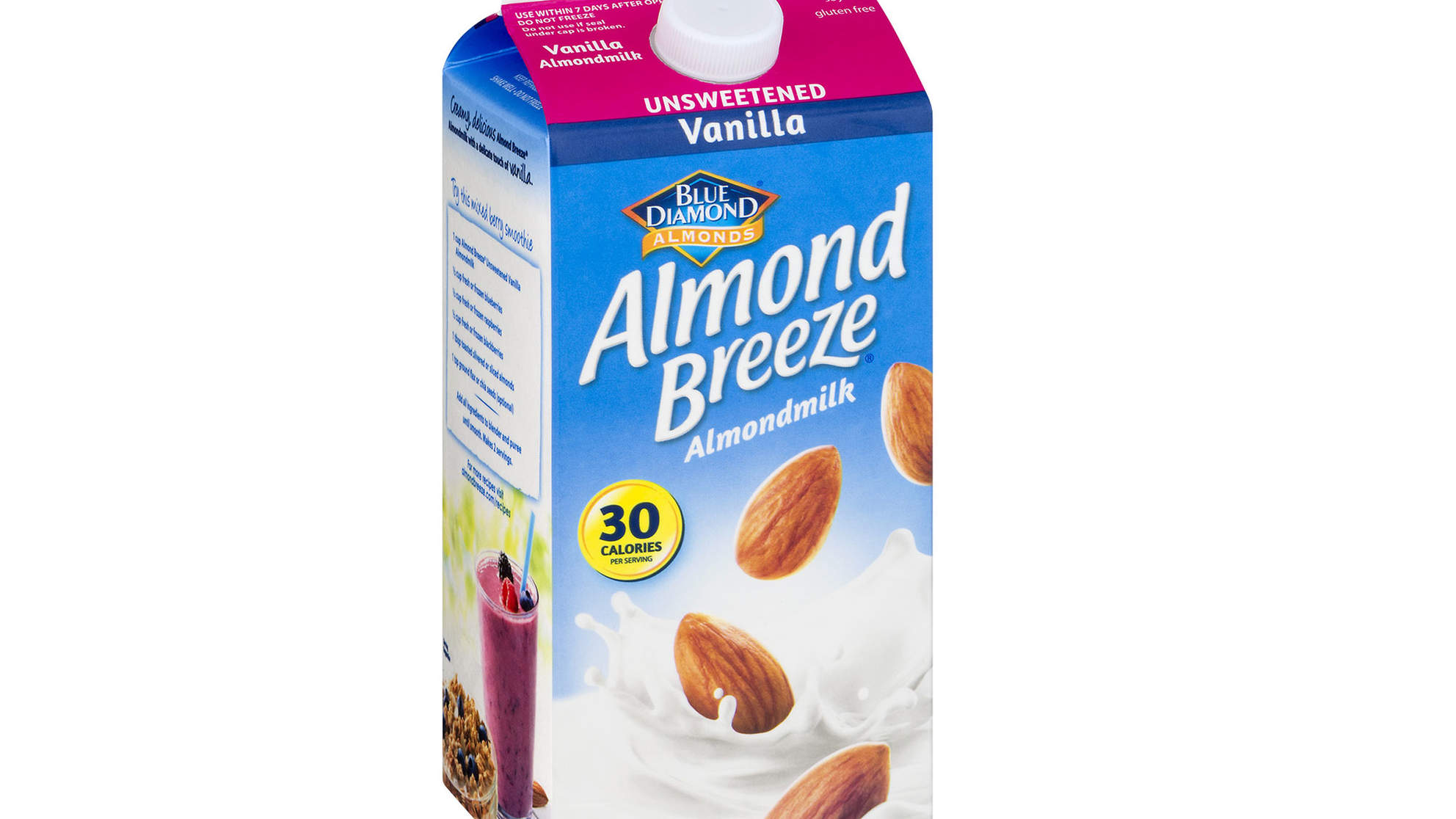 Almond Milk in 28 States Recalled for Containing Actual Milk