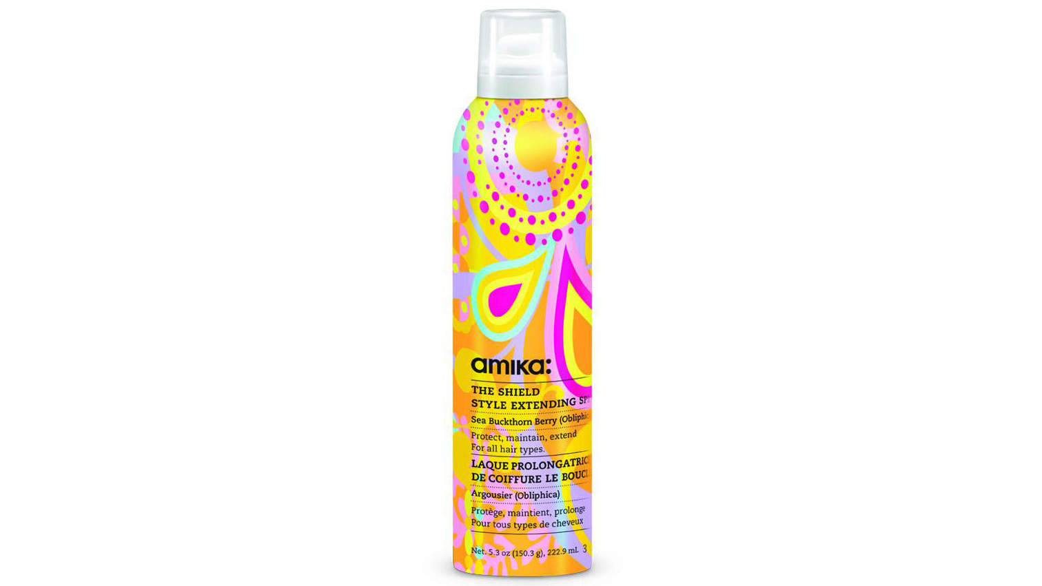 The Shield Style Extending Spray by amika.