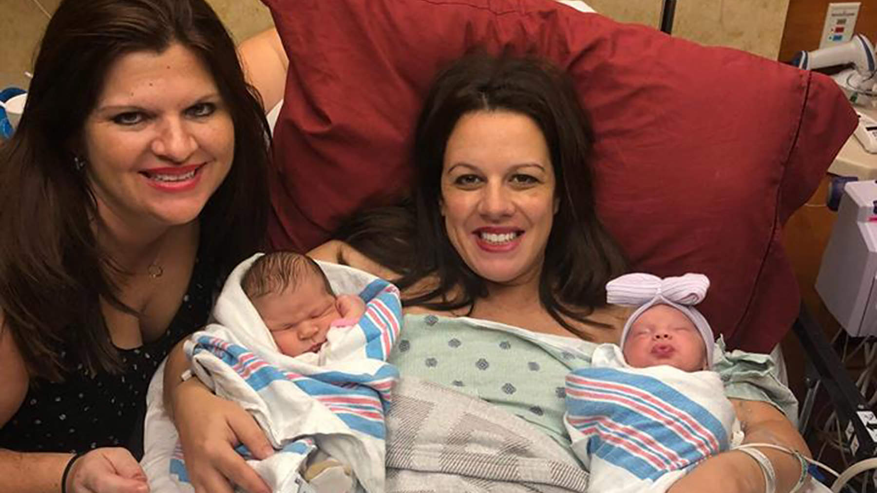 Mississippi Woman and Wife Pregnant at Same Time Give Birth 2 Days Apart