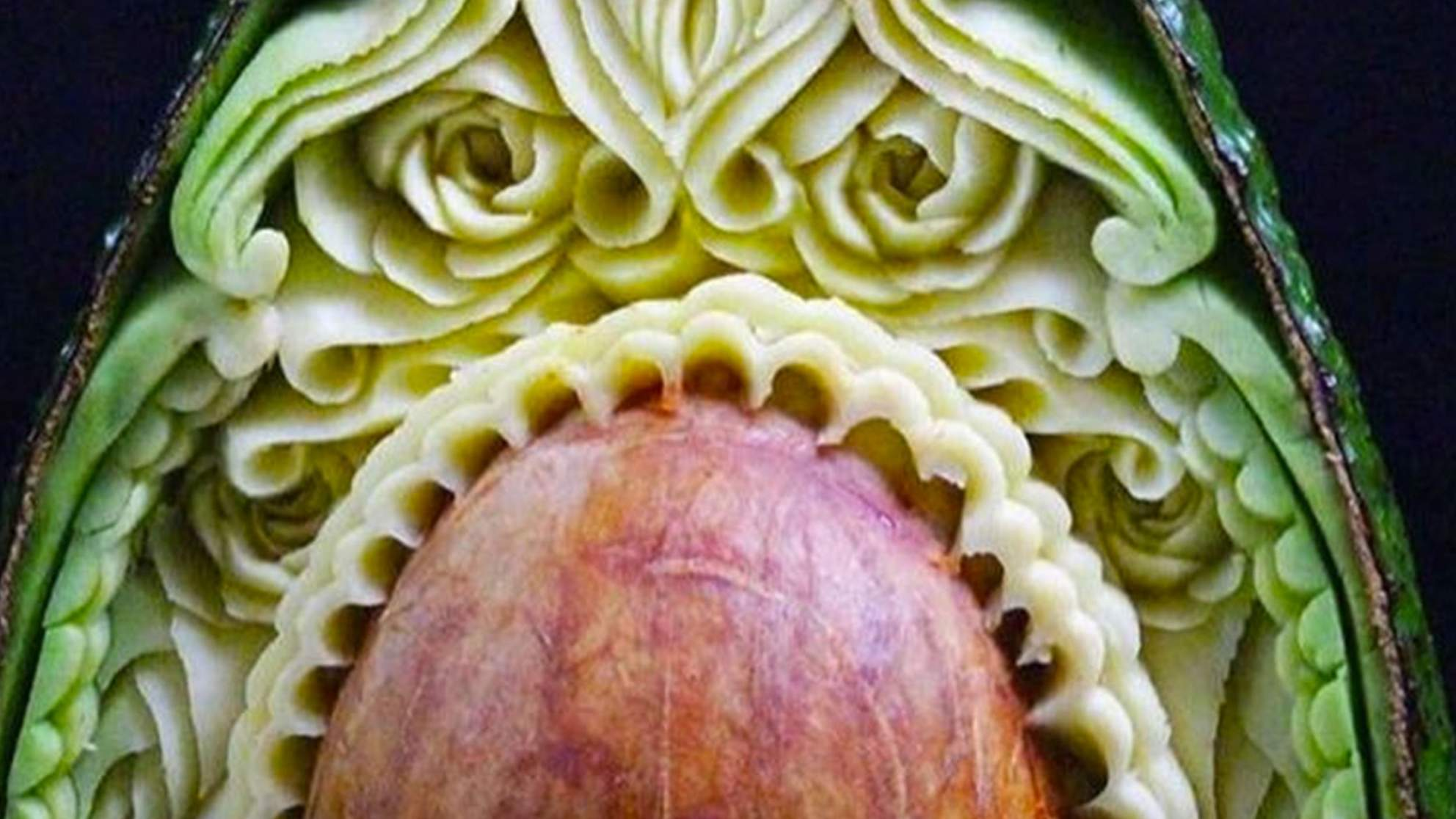 This Avocado Art Is Surprisingly Captivating