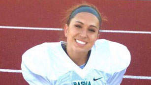 Meet the First Woman to Earn a NCAA Football Scholarship