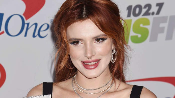 Bella Thorne Debuted Ultra-Short Baby Bangs, the Hair Trend of 2018