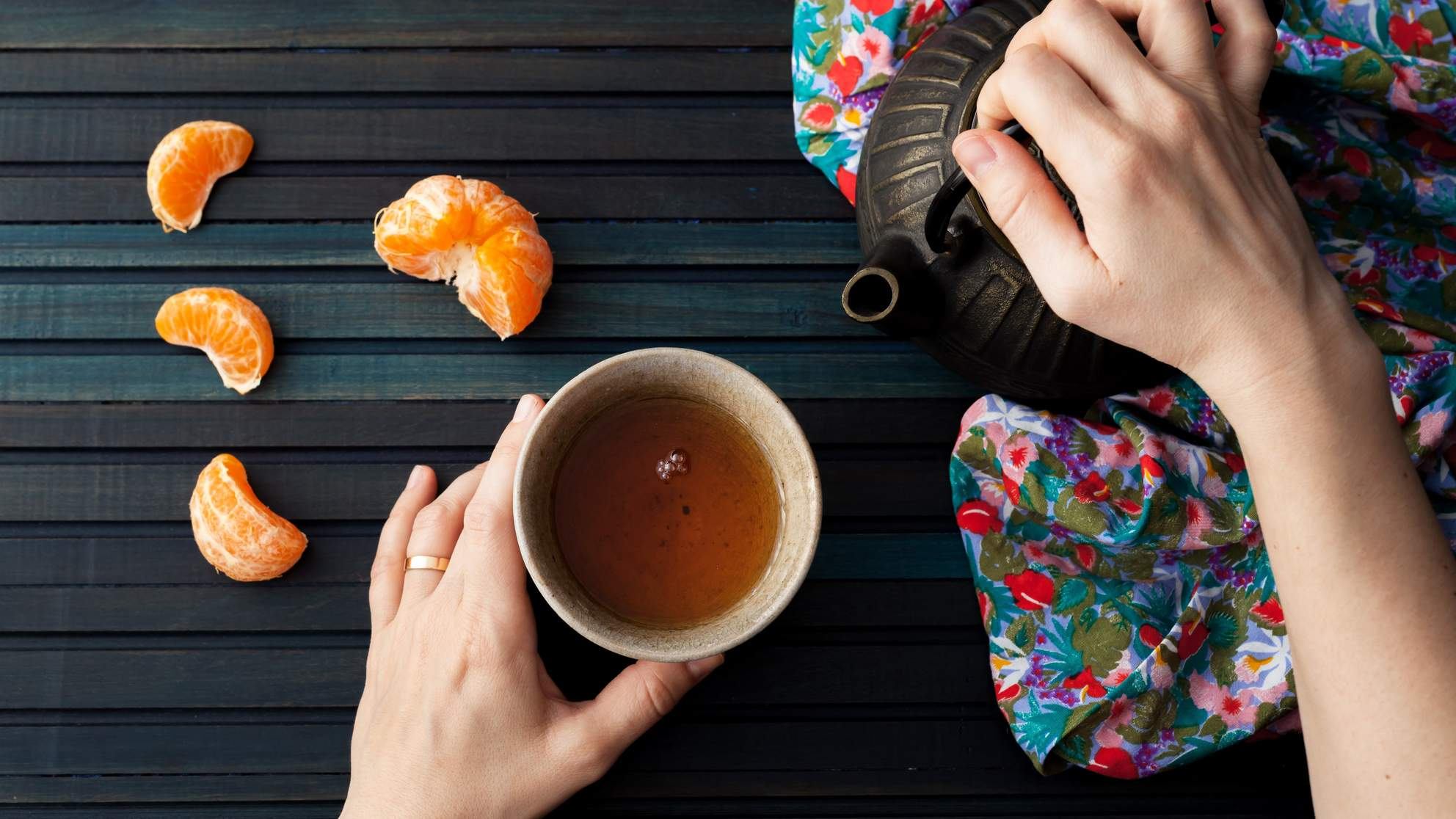 How Drinking Tea May Change Your Genes