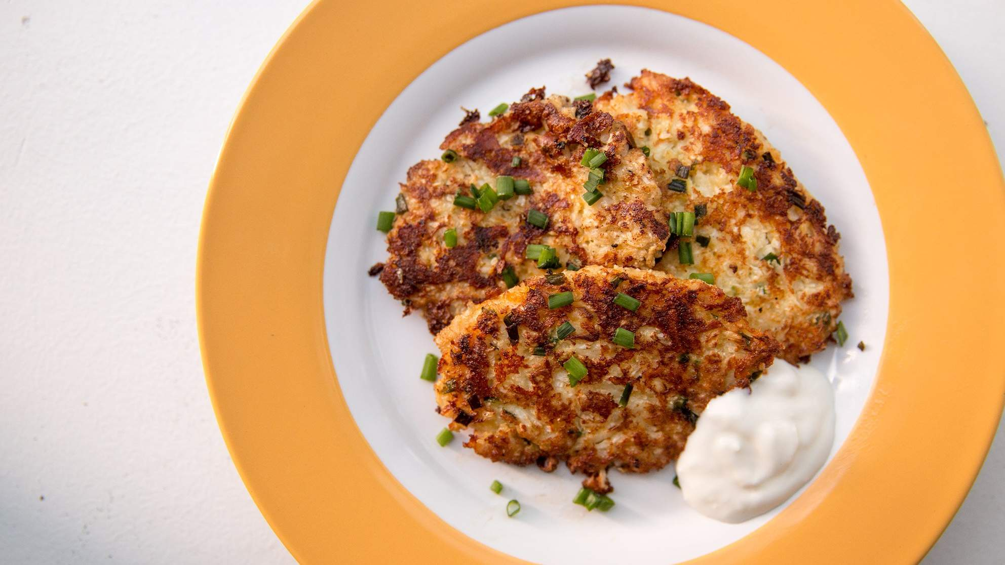 No-Potato Cauliflower Hash Browns Are Your Favorite New Breakfast Side