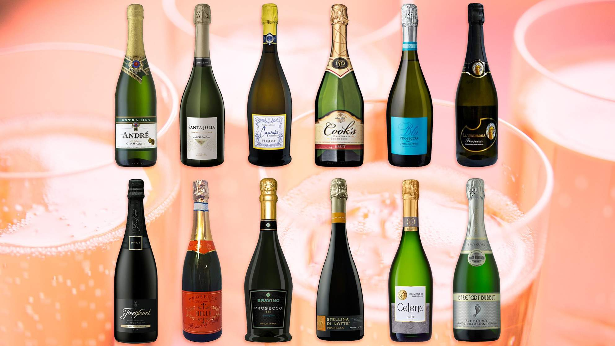 I Tried 12 Cheap Sparkling Wines and Here's the Best One