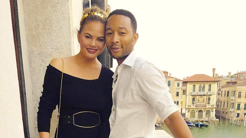 Sibling Bonding Time! Chrissy Teigen Shares First Photo of Daughter Luna and Son Miles Together