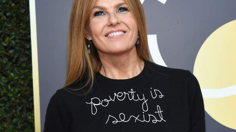 This Is Why Connie Britton's Golden Globes Look Says  Poverty Is Sexist