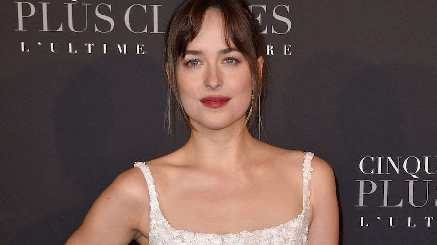Dakota Johnson Wore the Beach Wedding Dress of Our Dreams at the '50 Shades Freed' Premiere