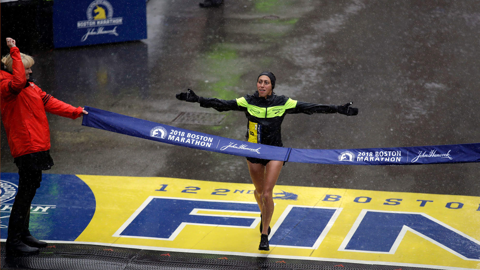 Desiree Linden Just Became the First American Woman to Win the Boston Marathon in Three Decades