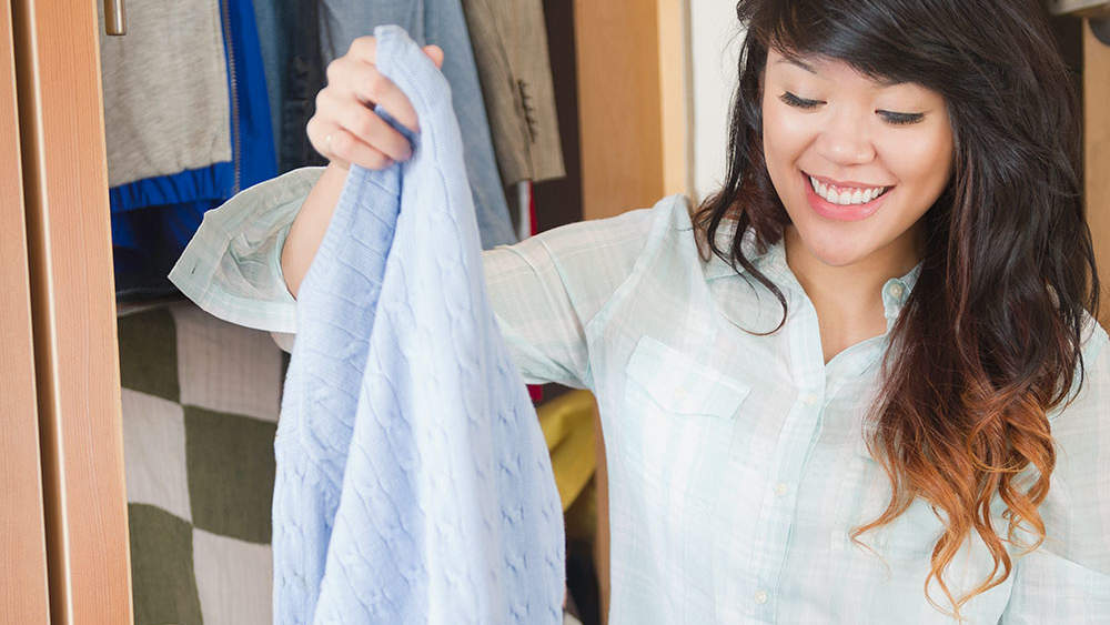 This Genius Trick Will Make Decluttering Easier