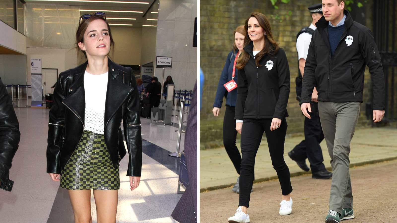 Emma Watson and Kate Middleton Sneakers