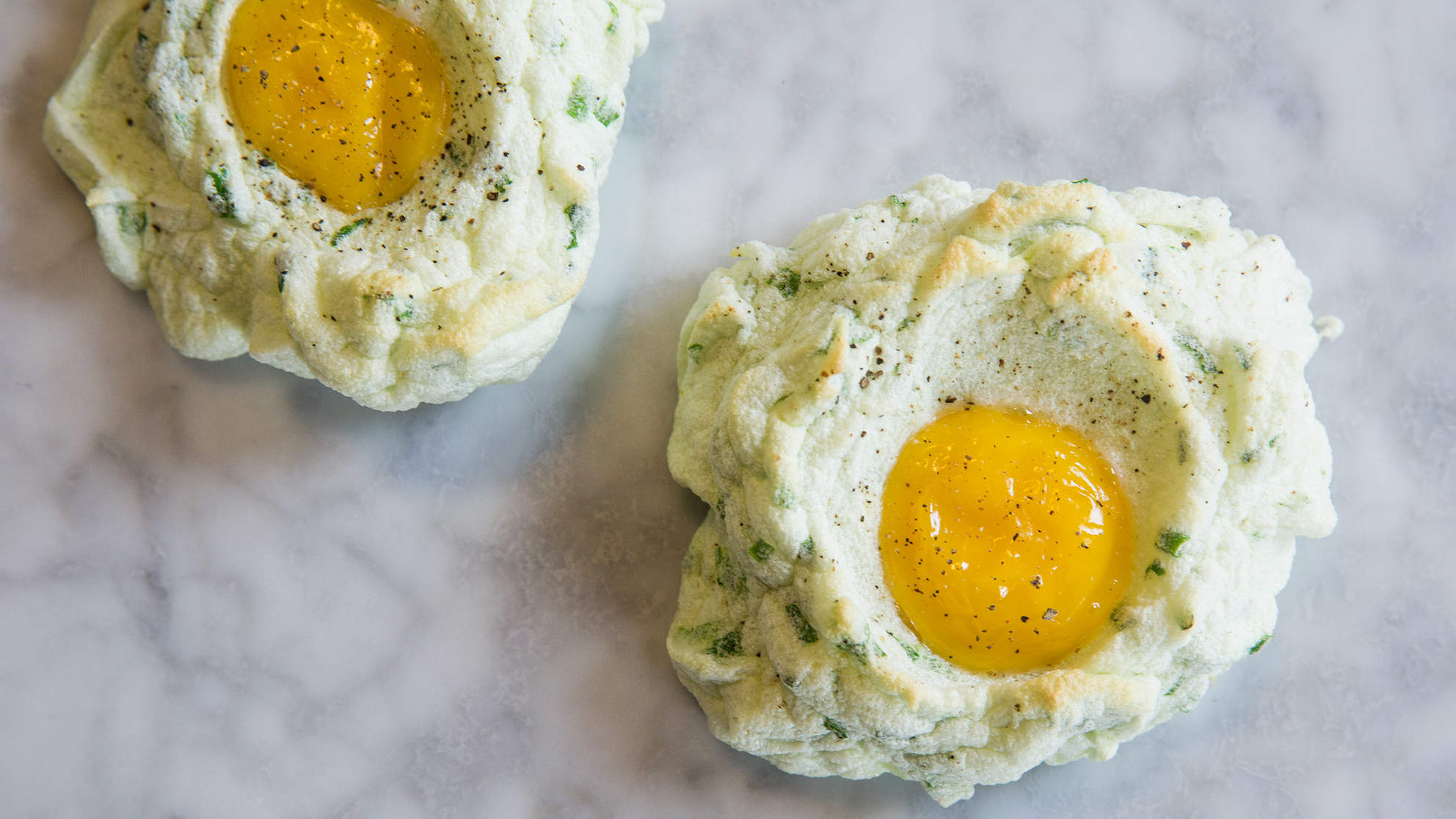 This 2-Ingredient Egg Cloud Is Next-Level Egg-in-a-Hole