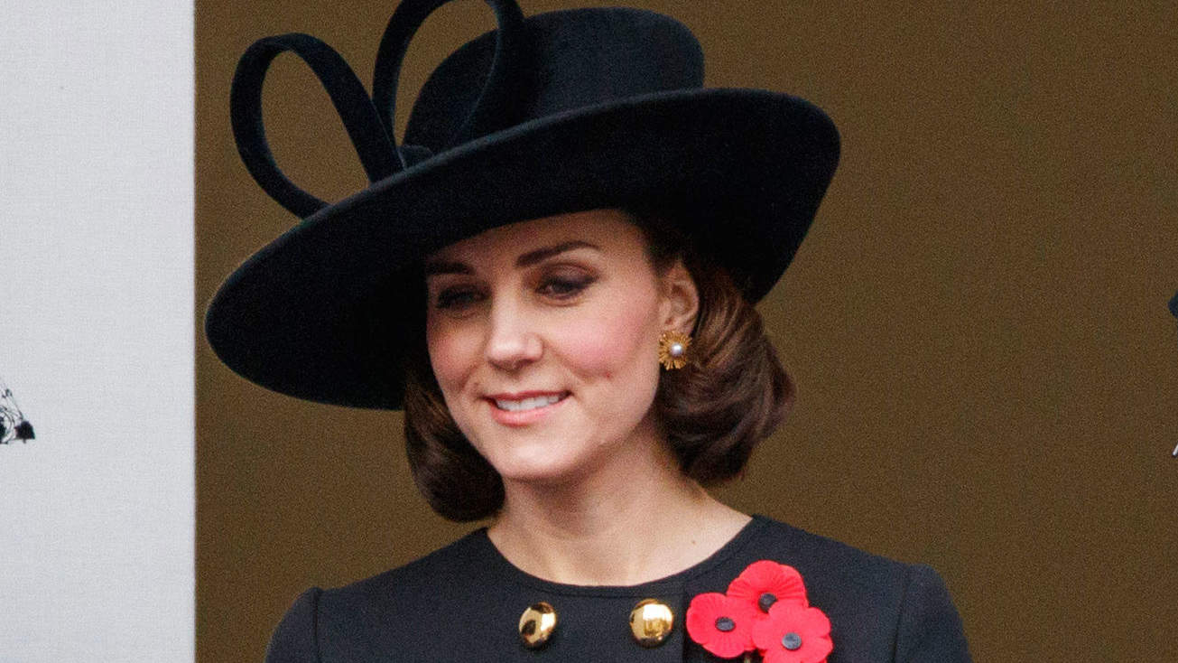 Duchess of Cambridge Service of Remembrance