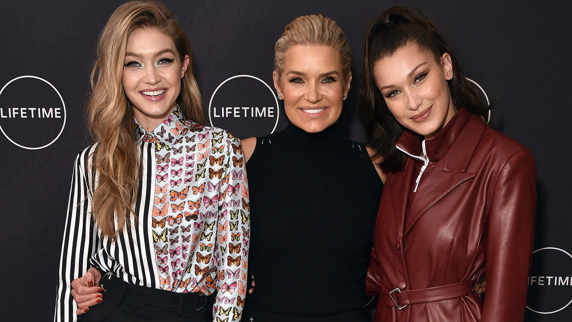 Yolanda Hadid Celebrates Her Birthday And The Premiere Of Her New Lifetime Show, 'Making A Model With Yolanda Hadid' With Friends And Family In New York