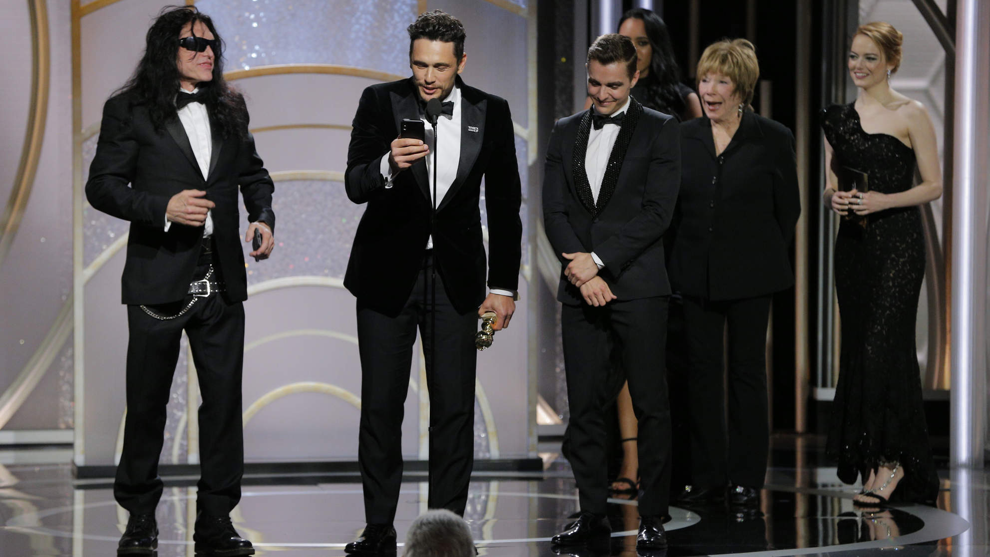 Why People Are Calling Out James Franco After the Golden Globes