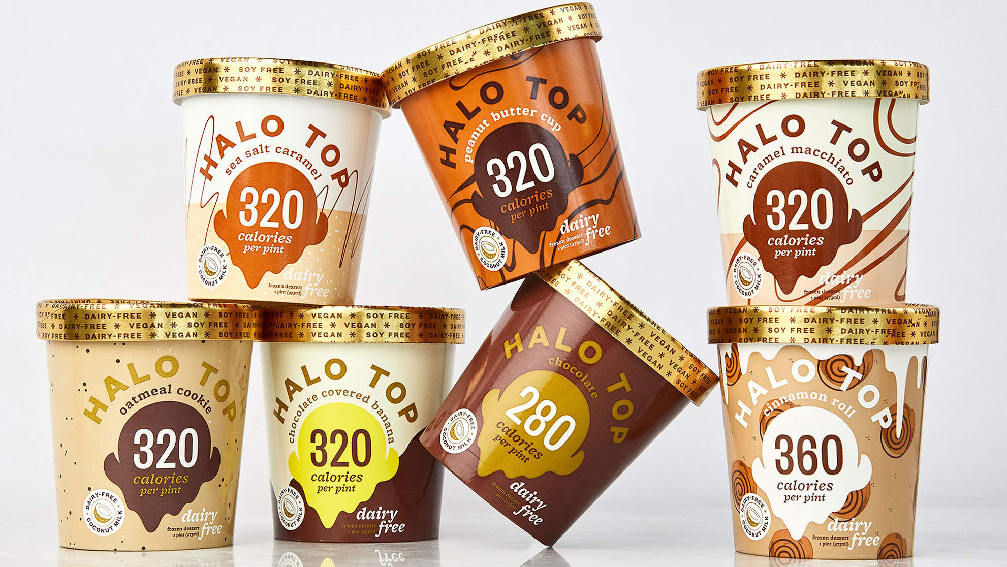 Halo Top Announces Their First Non-Dairy and Vegan Ice Cream Flavors