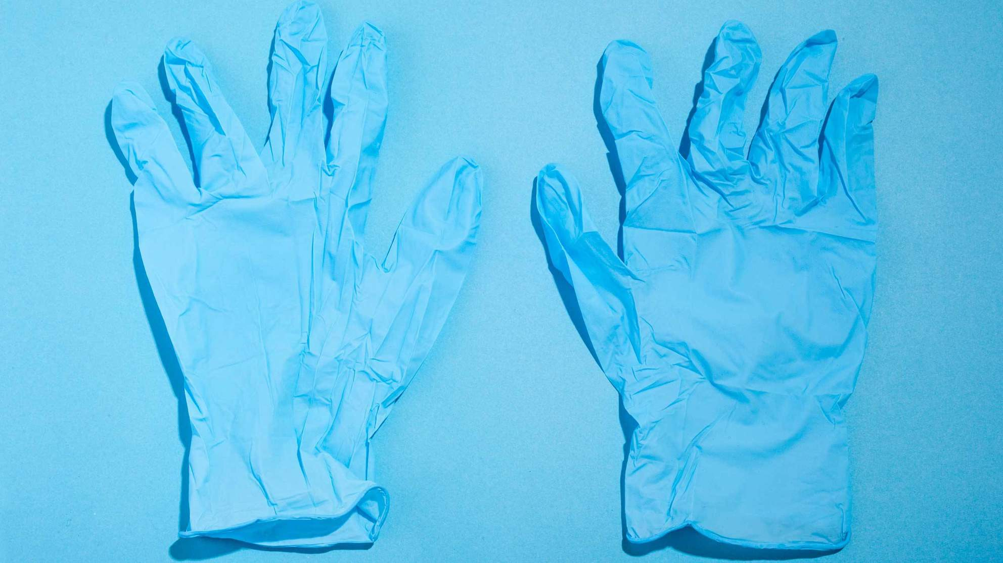 TIME.com stock photos Health First Aid Kit Gloves