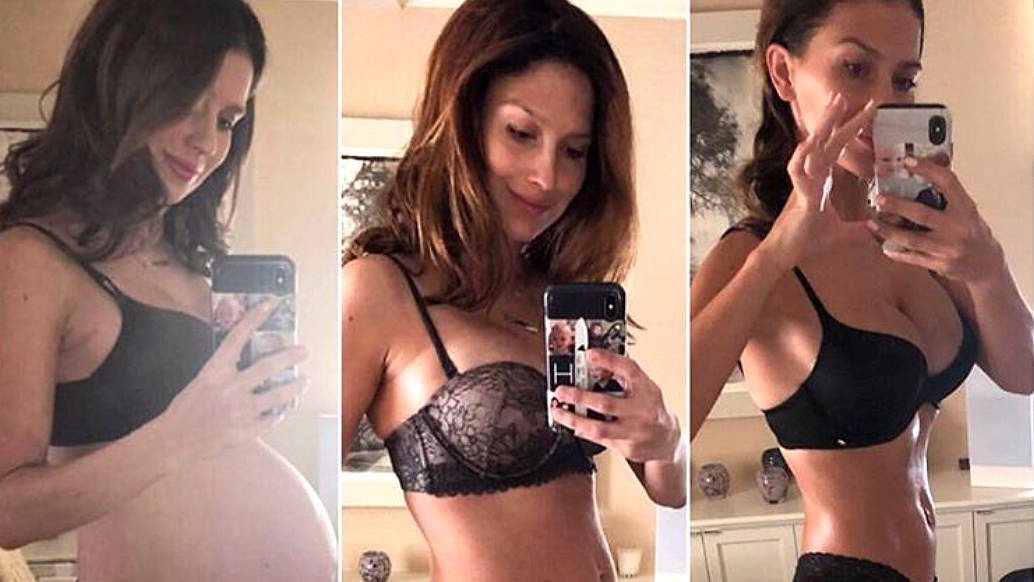 Hilaria Baldwin Shares Her Post-Baby Body 'Recovery' 4.5 Months After Welcoming Fourth Child