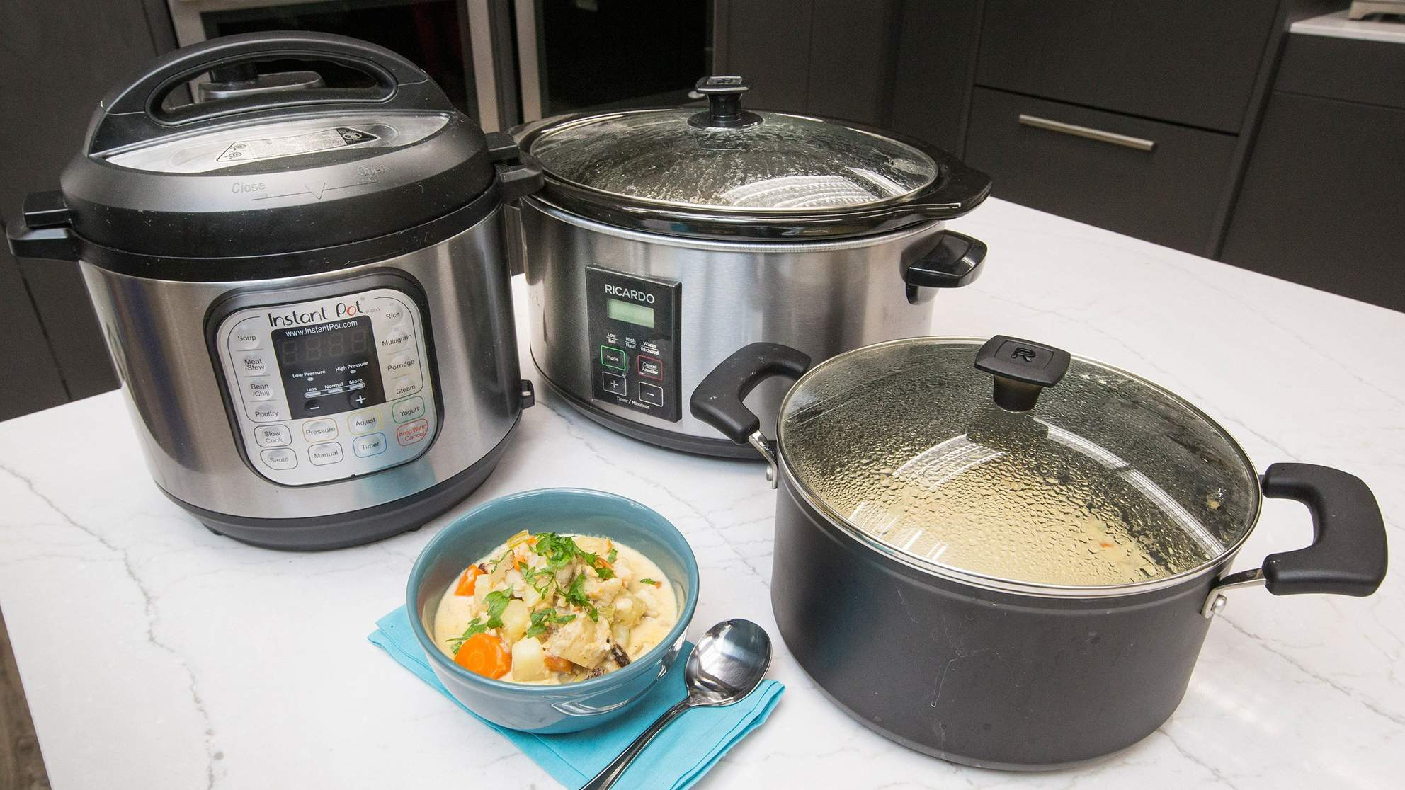 The Difference Between an Instant Pot and a Slow Cooker