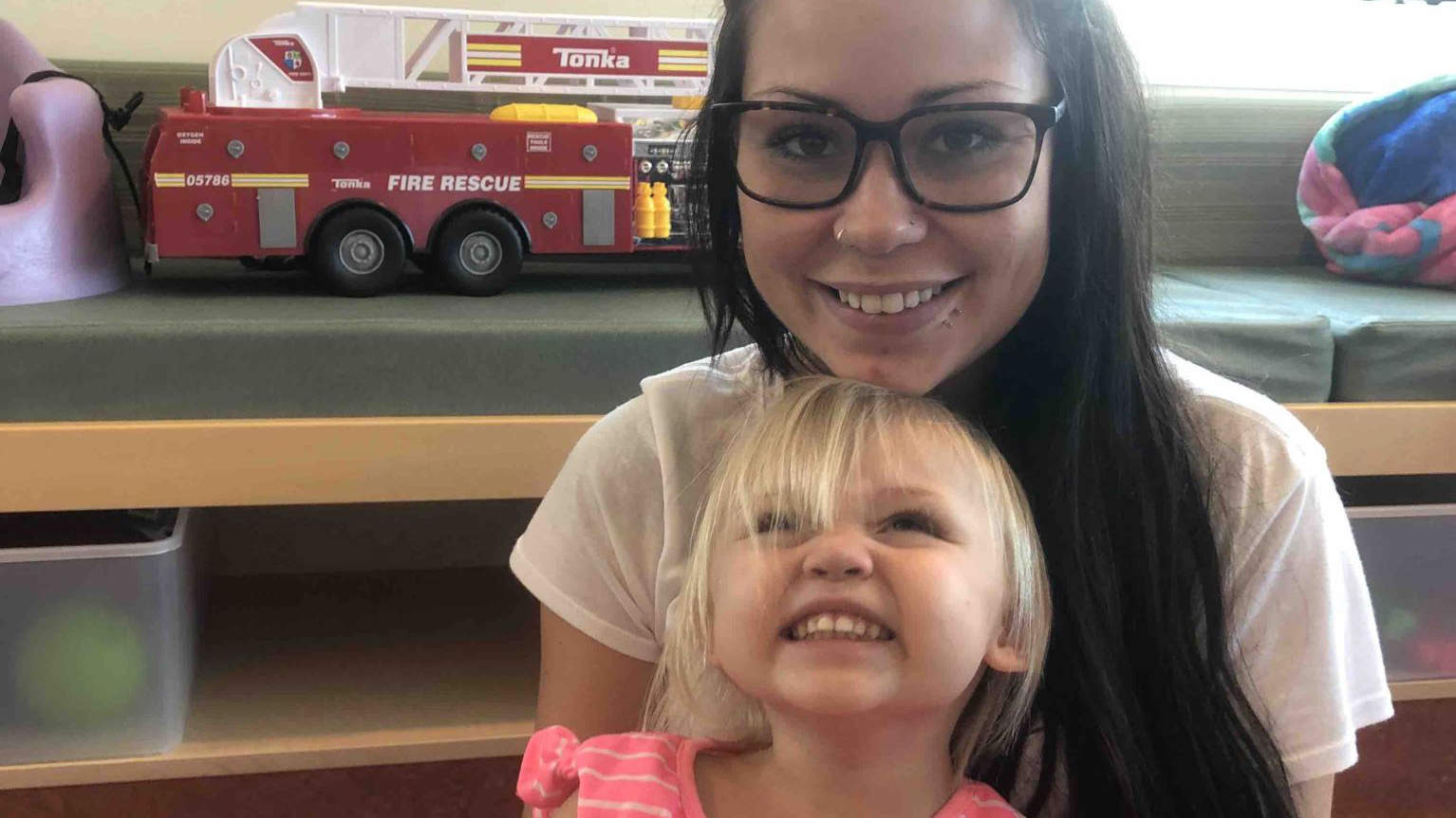 2-Year-Old Girl Partially Paralyzed After Falling on Drinking Glass: 'It's a Nightmare,' Mom Says