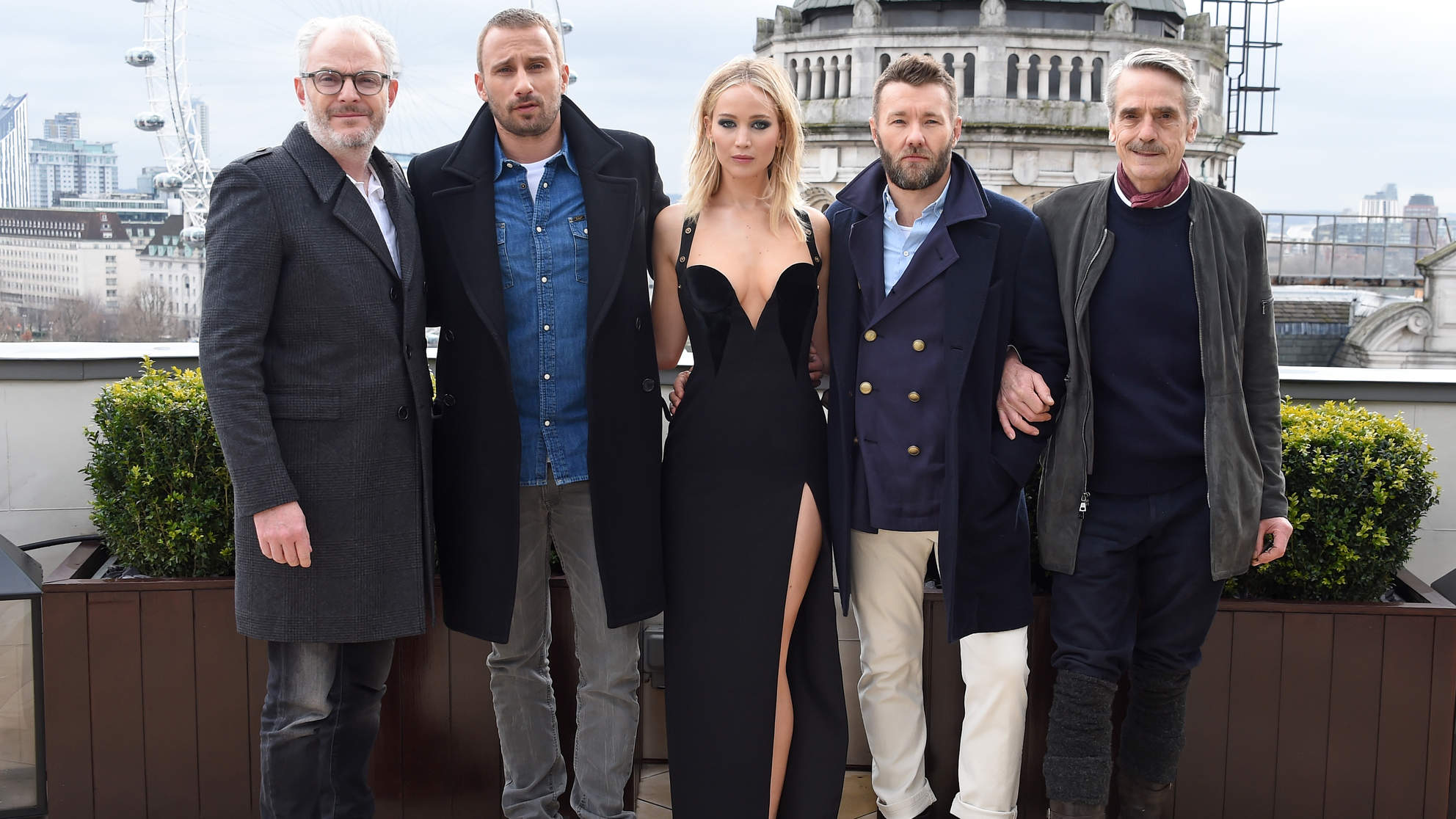 Red Sparrow  - Photocall