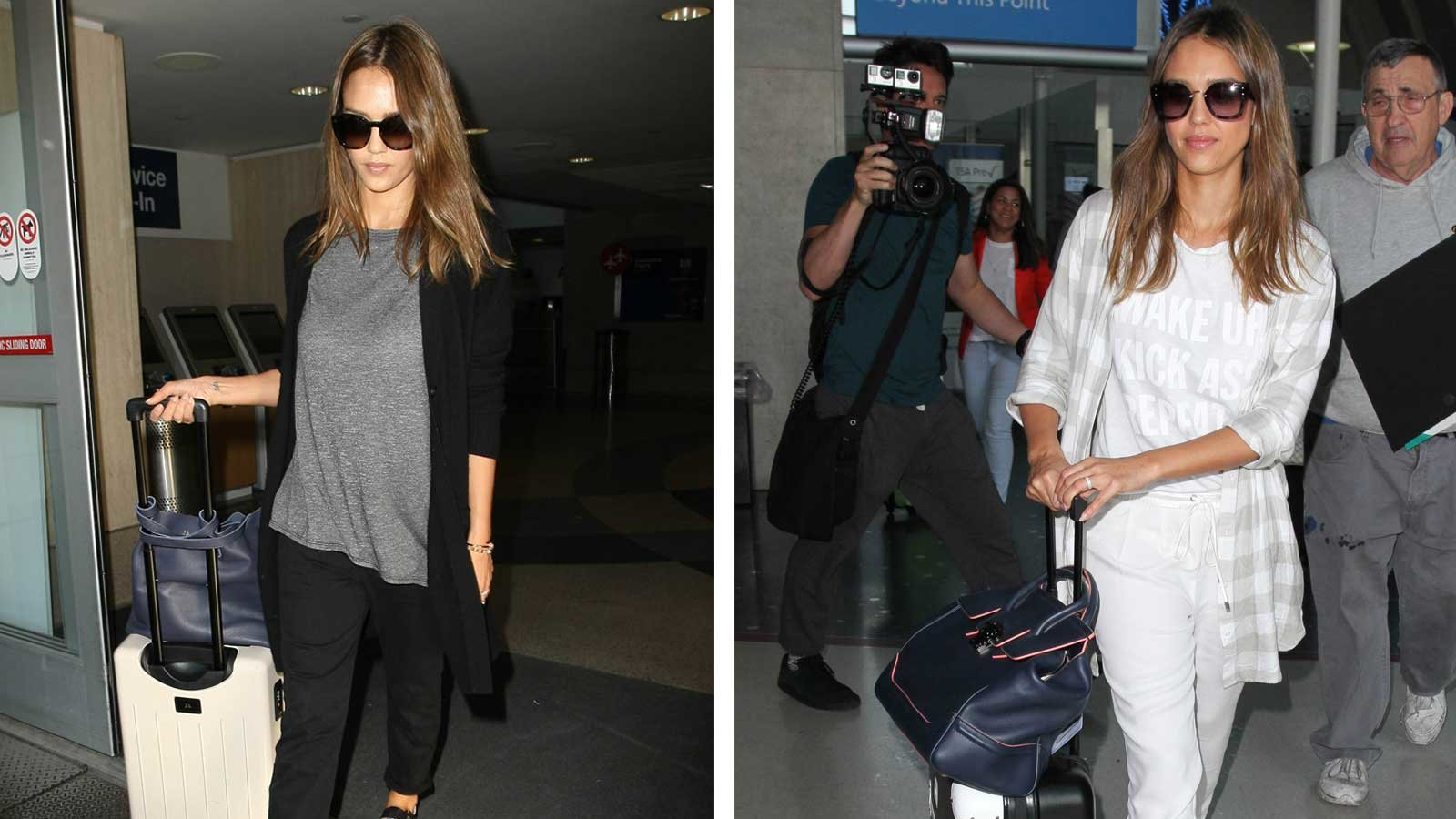 Jessica Alba on Travel Style and Staying Healthy