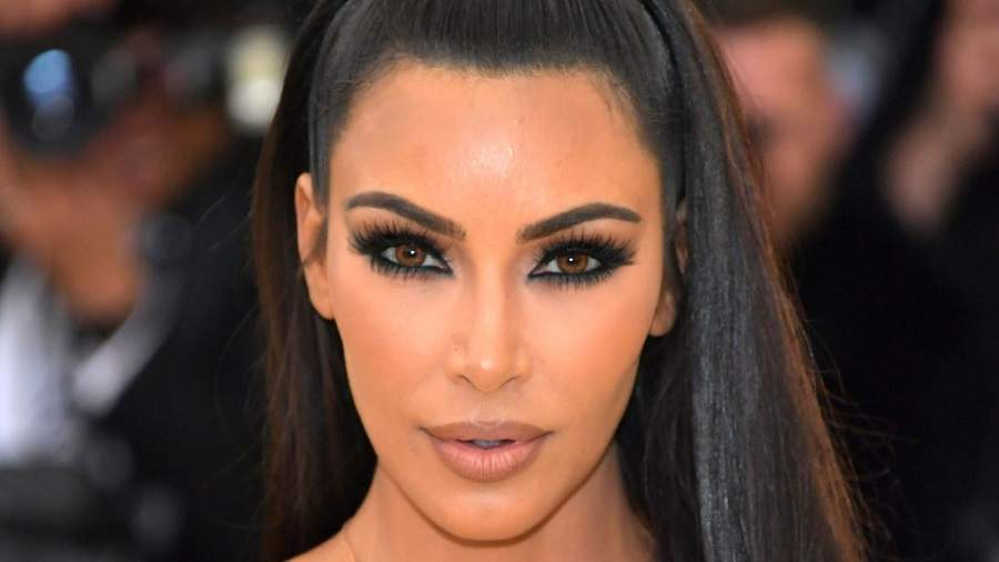 Kim Kardashian Shares a Close-Up Video Showing Her 'Psoriasis Face' After Suffering a Flare-Up