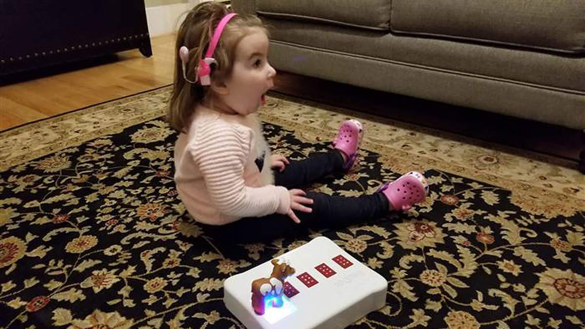 Dad Invents Toy That Teaches Braille to His 2-Year-Old Daughter Who Is Going Blind