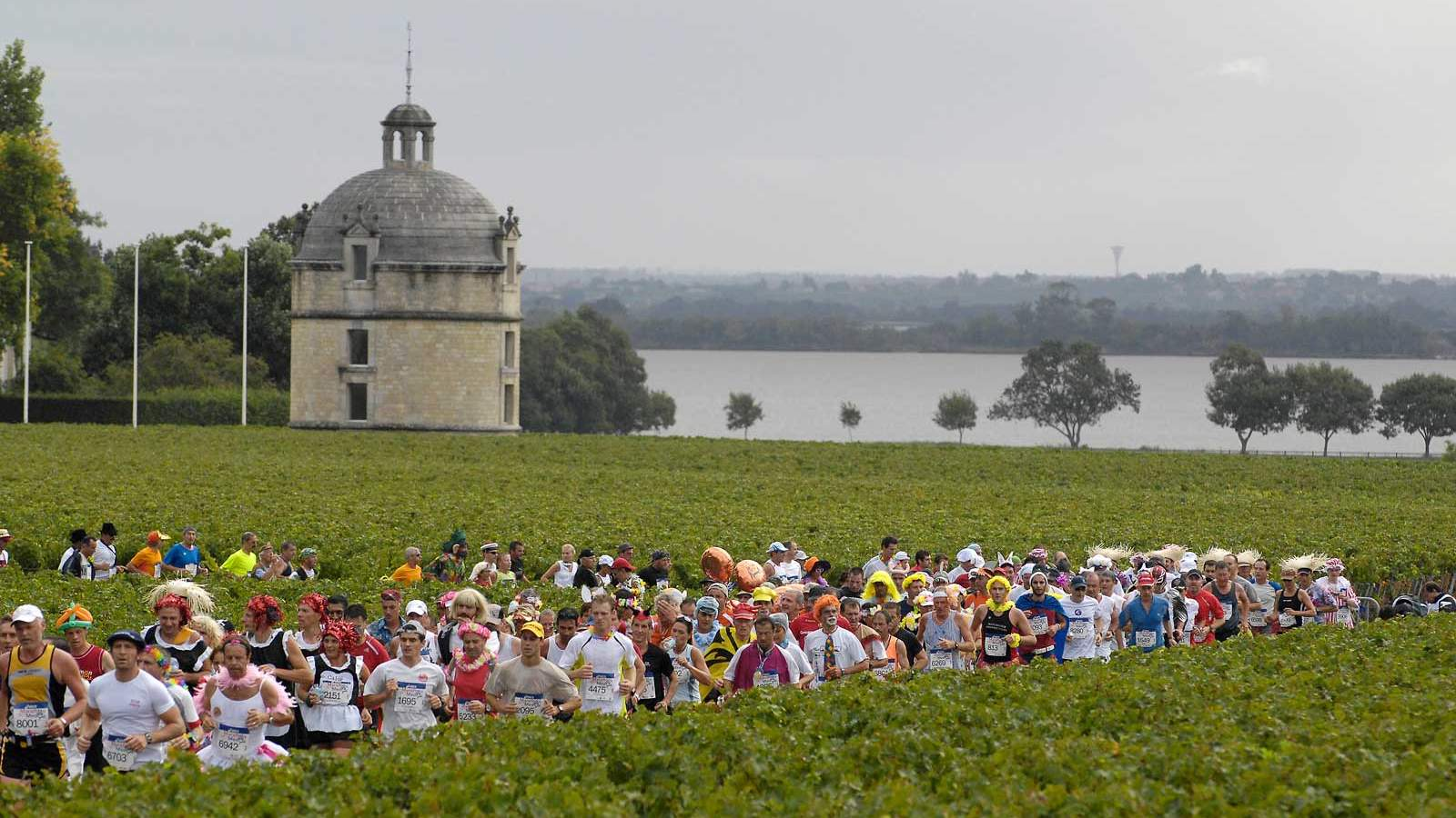 Marathon de Médoc in France