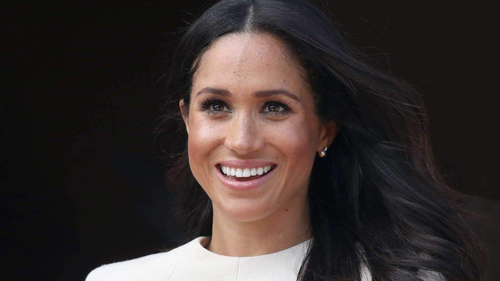 Meghan Markle's Go-to Comfy Heel Designer Also Makes the Perfect White Sneaker