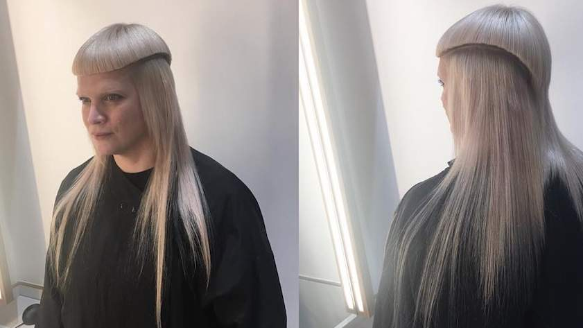 """This woman's """"jellyfish mullet"""" has gone viral, and the internet doesn't know how to feel"""