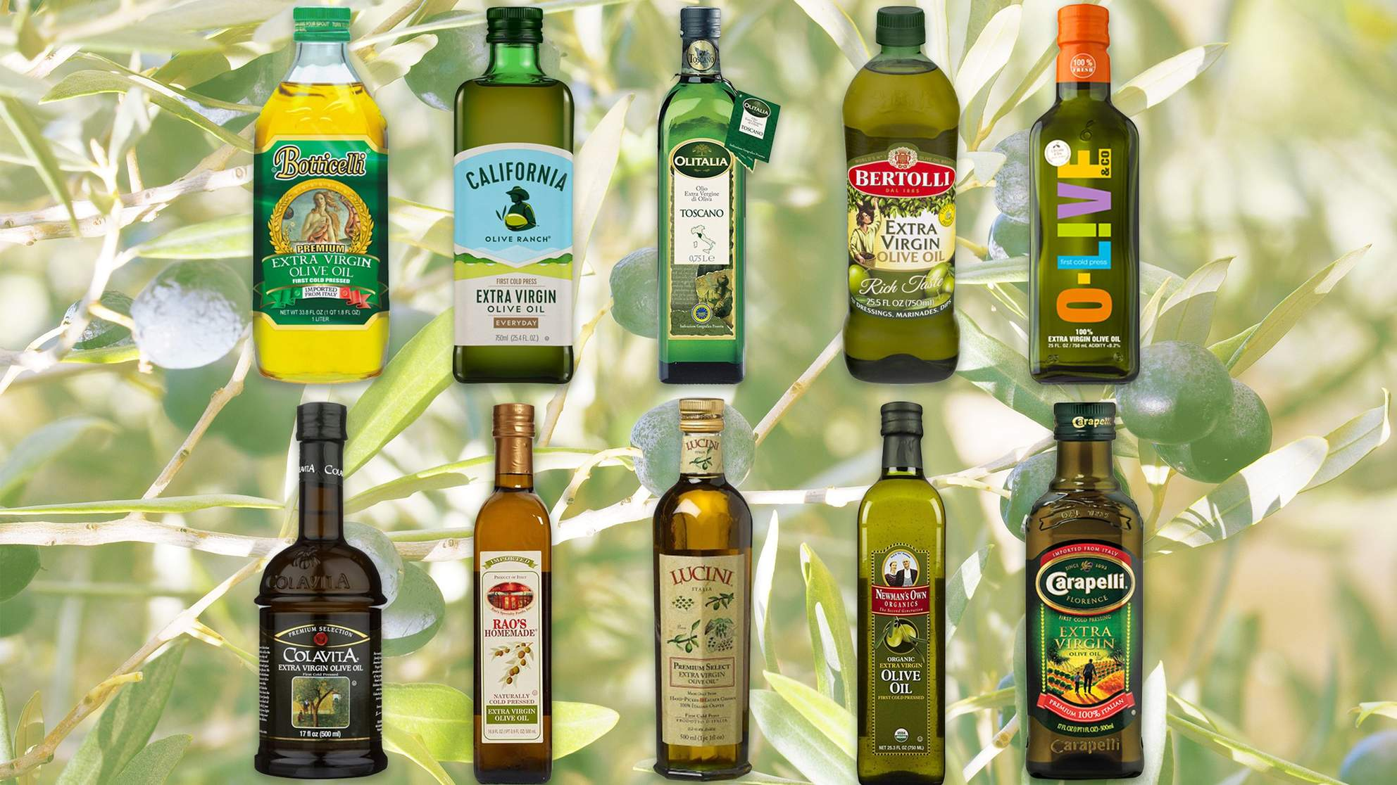 The Best and Worst Olive Oil from the Grocery Store