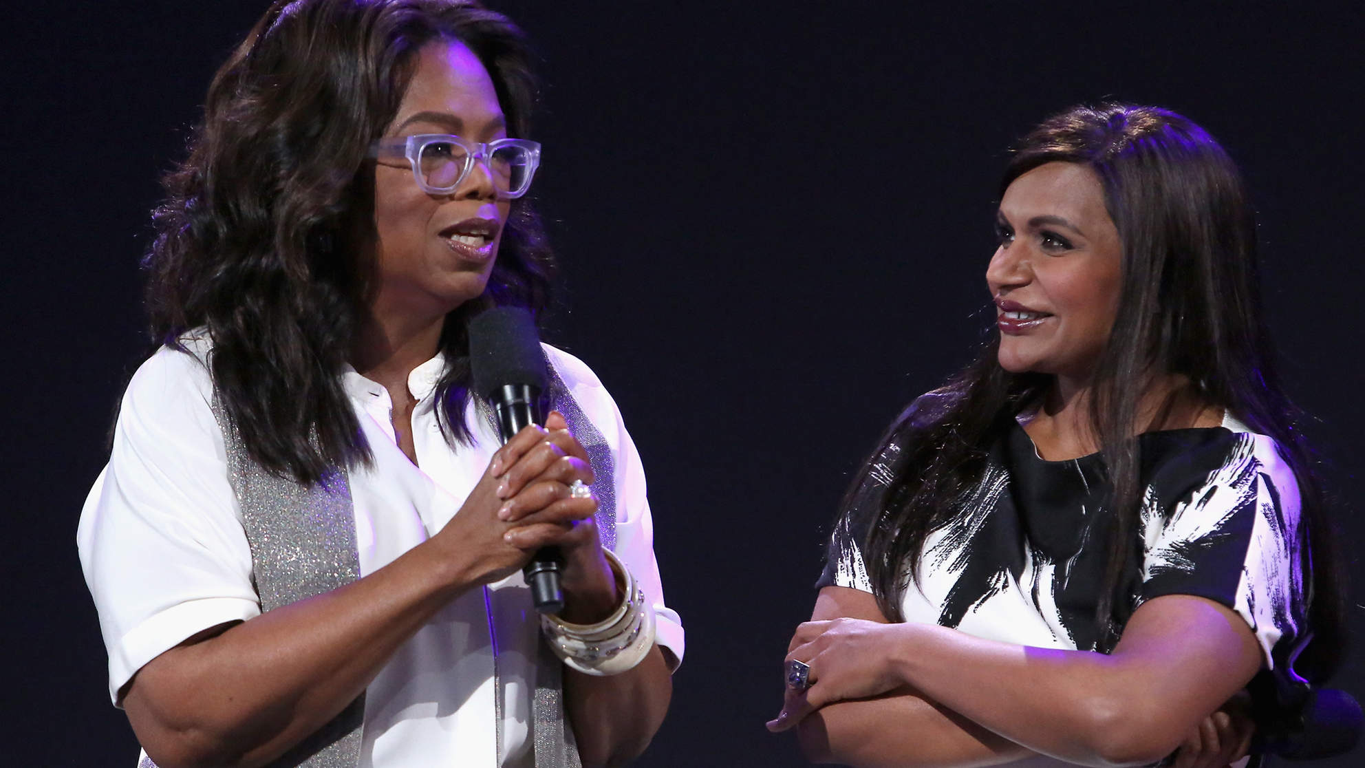 Oprah's Fabulous Baby Gift for Mindy Kaling's Daughter Was So Big It Needed Its Own U-Haul Truck