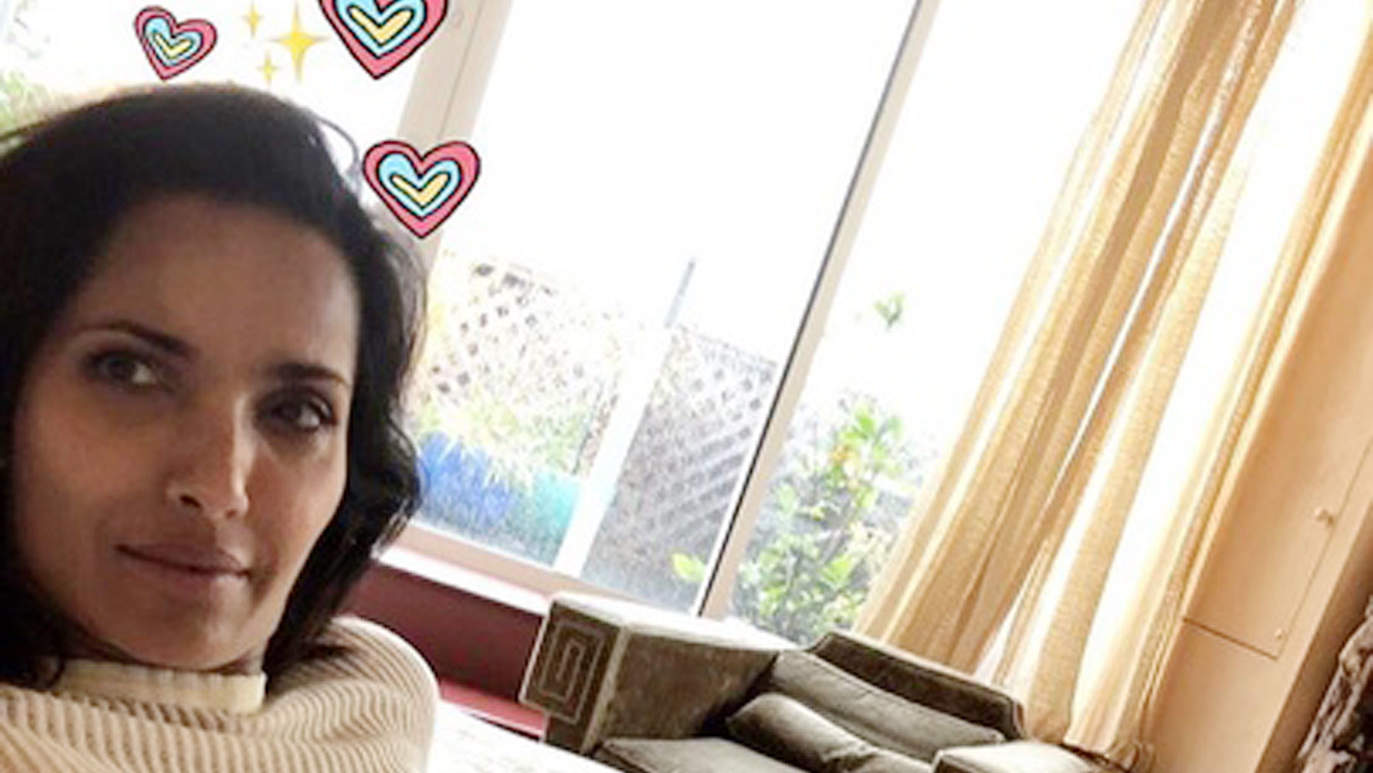 Padma Lakshmi Embraces Her Stretch Marks in Racy Photo — See the Pic!