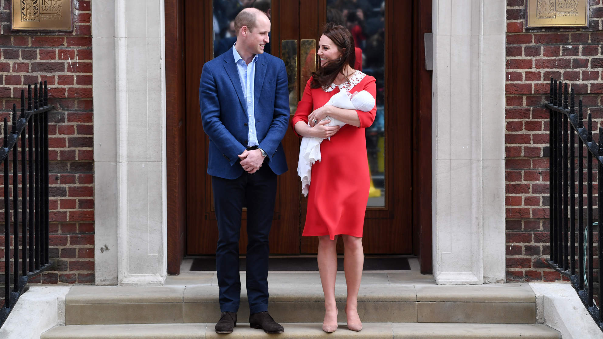 Prince William Might Have Just Hinted at the New Royal Baby's Name