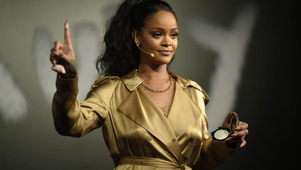 Rihanna Low-Key Threw Shade at the Victoria's Secret Exec Who Said the Brand Won't Cast Trans or Plus-Size Models
