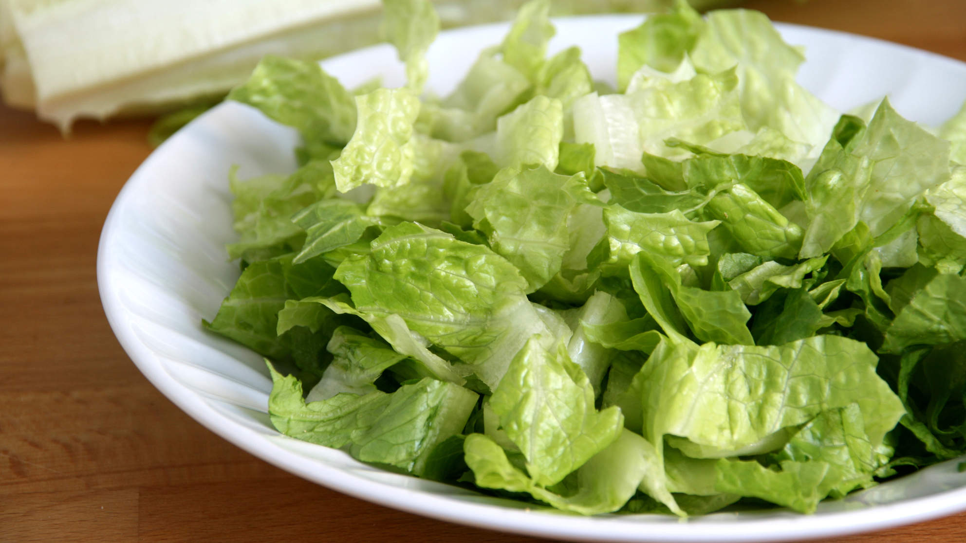 romaine cut salad